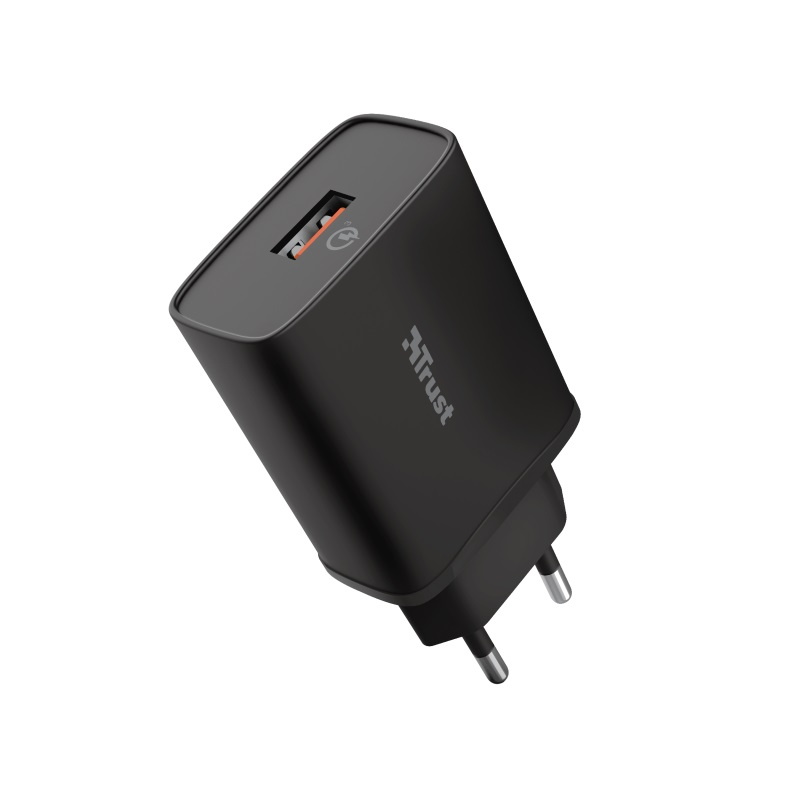 TRUST QMAX USB-A WALL CHARGER QC3 18W