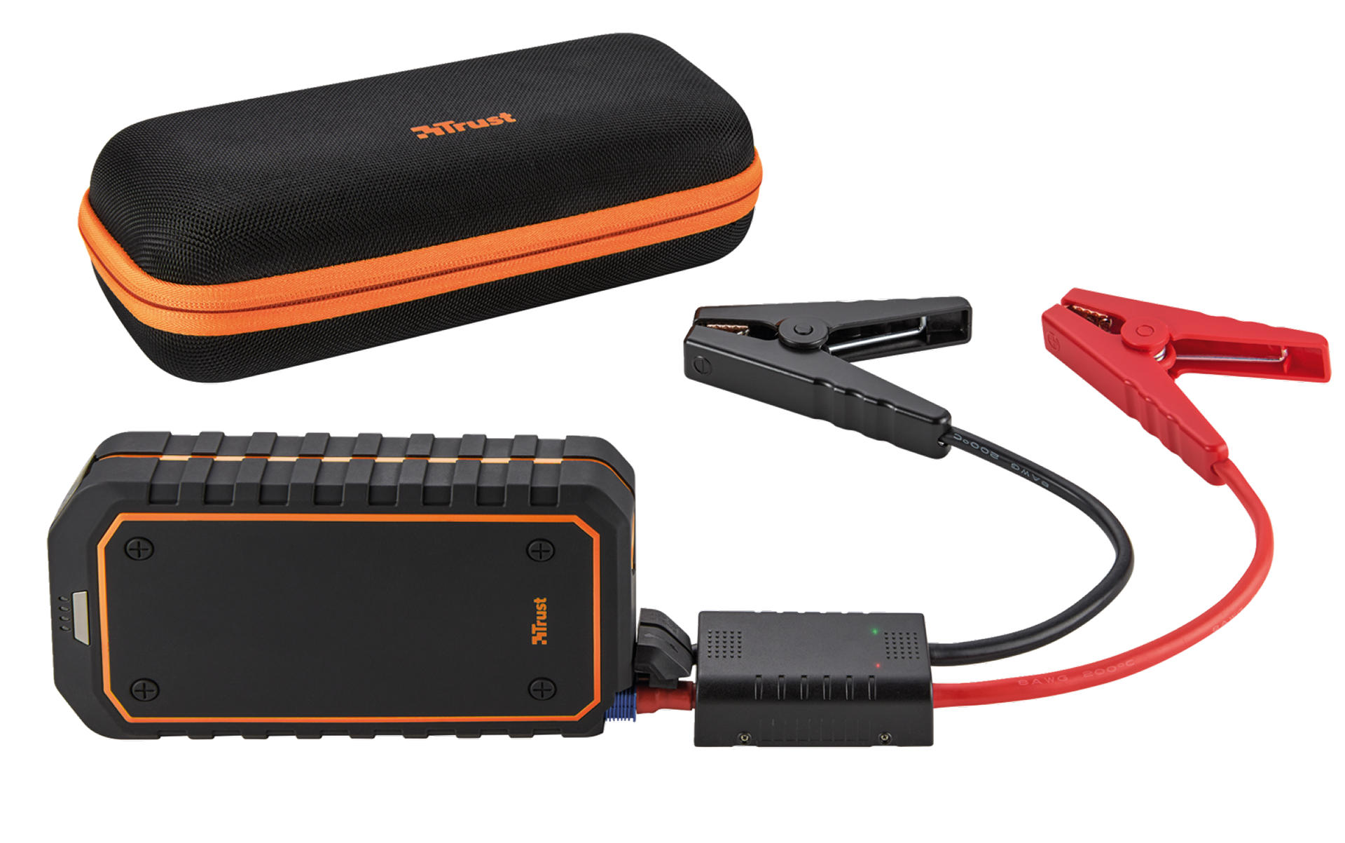 TRUST Car Jump Starter, Powerbank 10 000 mAh