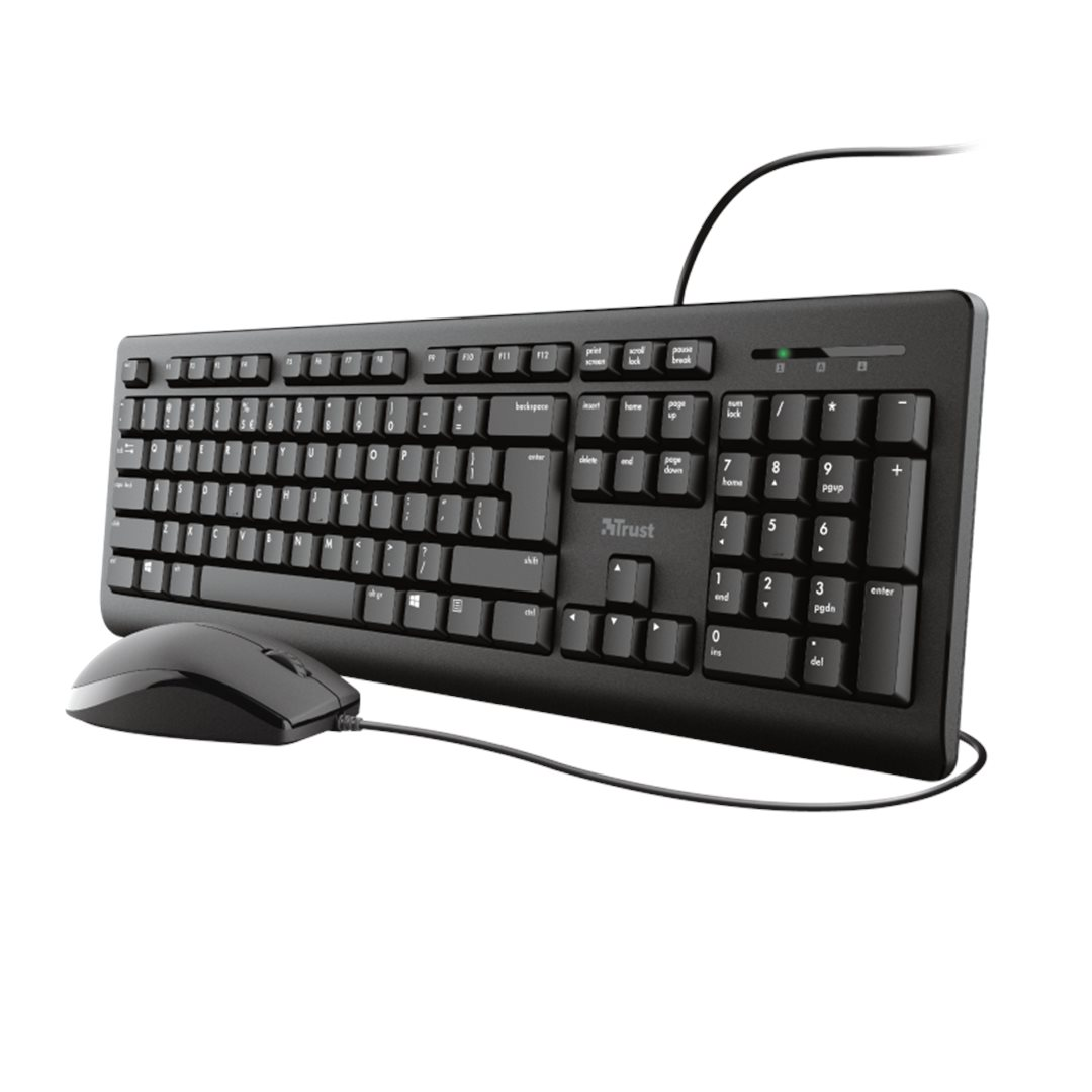 TRUST PRIMO KEYBOARD AND MOUSE SET DE