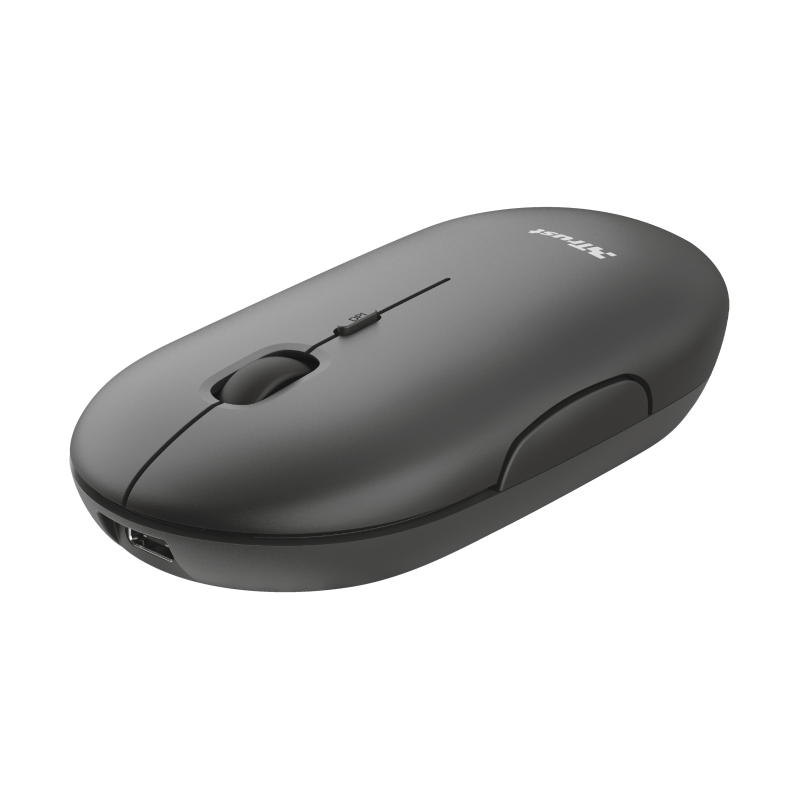 TRUST PUCK WIRELESS MOUSE BLACK