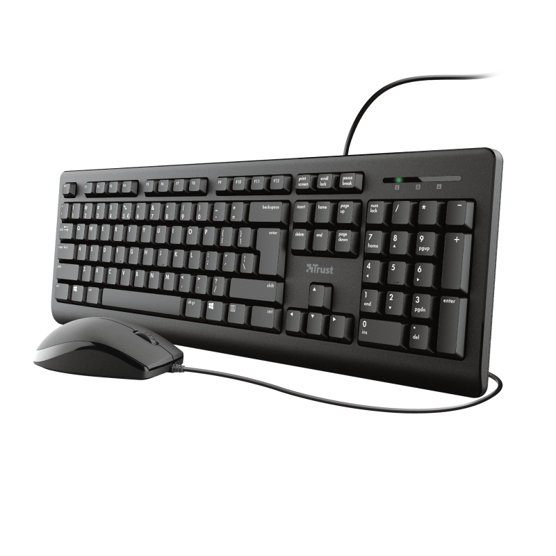 TRUST PRIMO KEYBOARD AND MOUSE SET RU