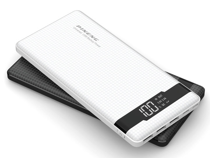 VIKING POWER BANK PN-962 QC3.0 20000mah, QUICK CHARGE 3.0, Bílá