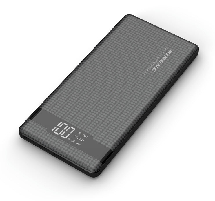 VIKING POWER BANK PN-962 QC3.0 20000mah, QUICK CHARGE 3.0, Černá