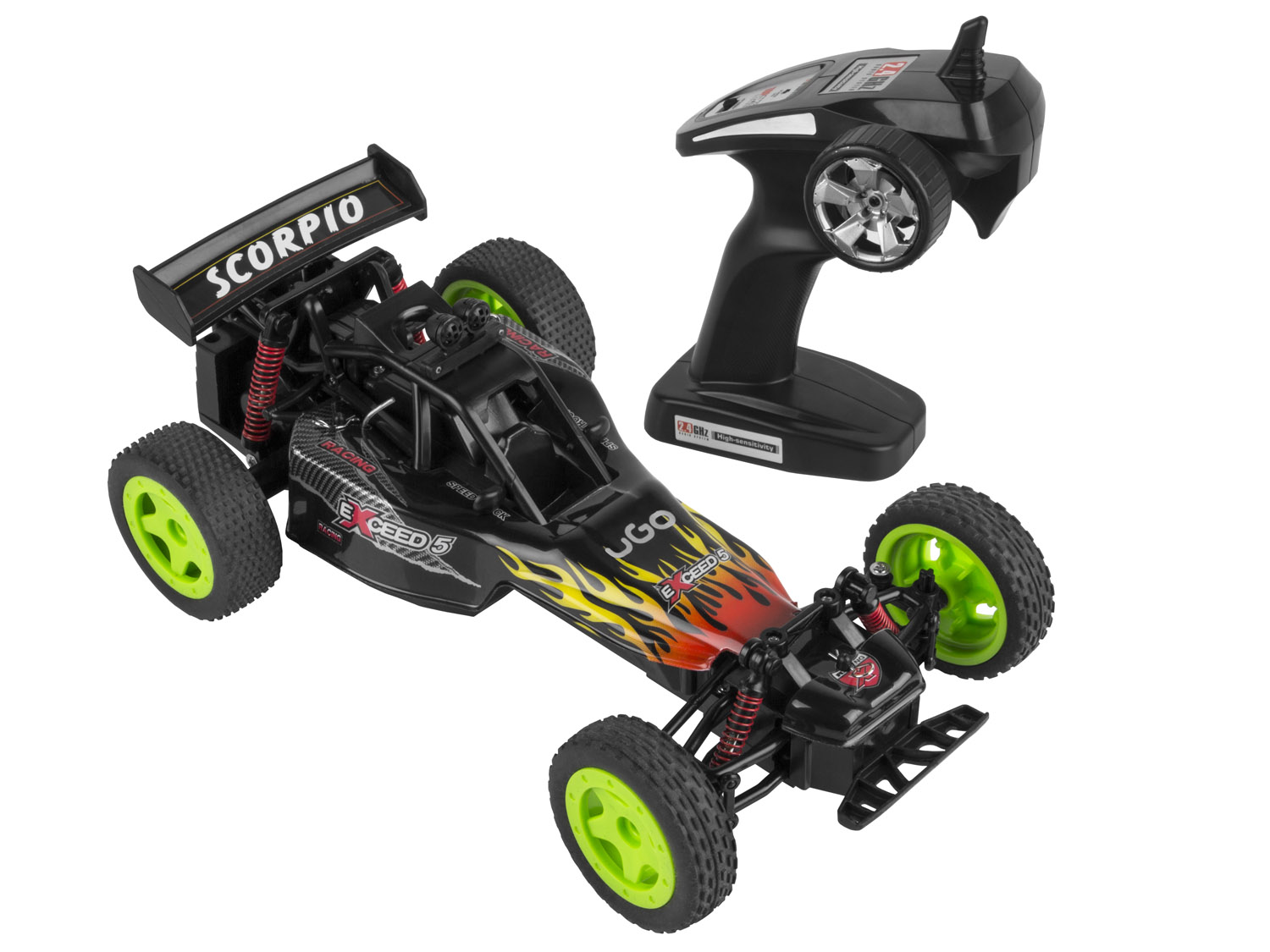 RC model UGO Scorpio 1:16 25 km/h