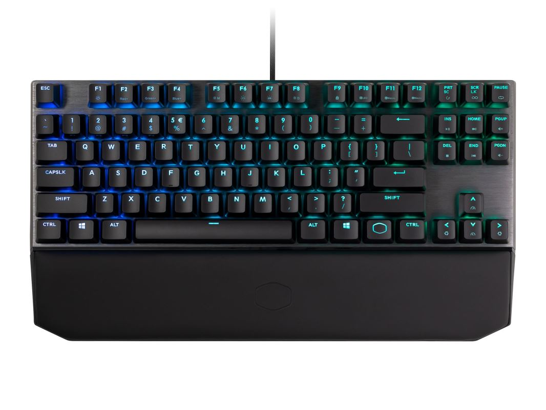 COOLER MASTER MASTERKEYS MK 730 RGB mechanická klávesnice US layout CHERRY MX BROWN