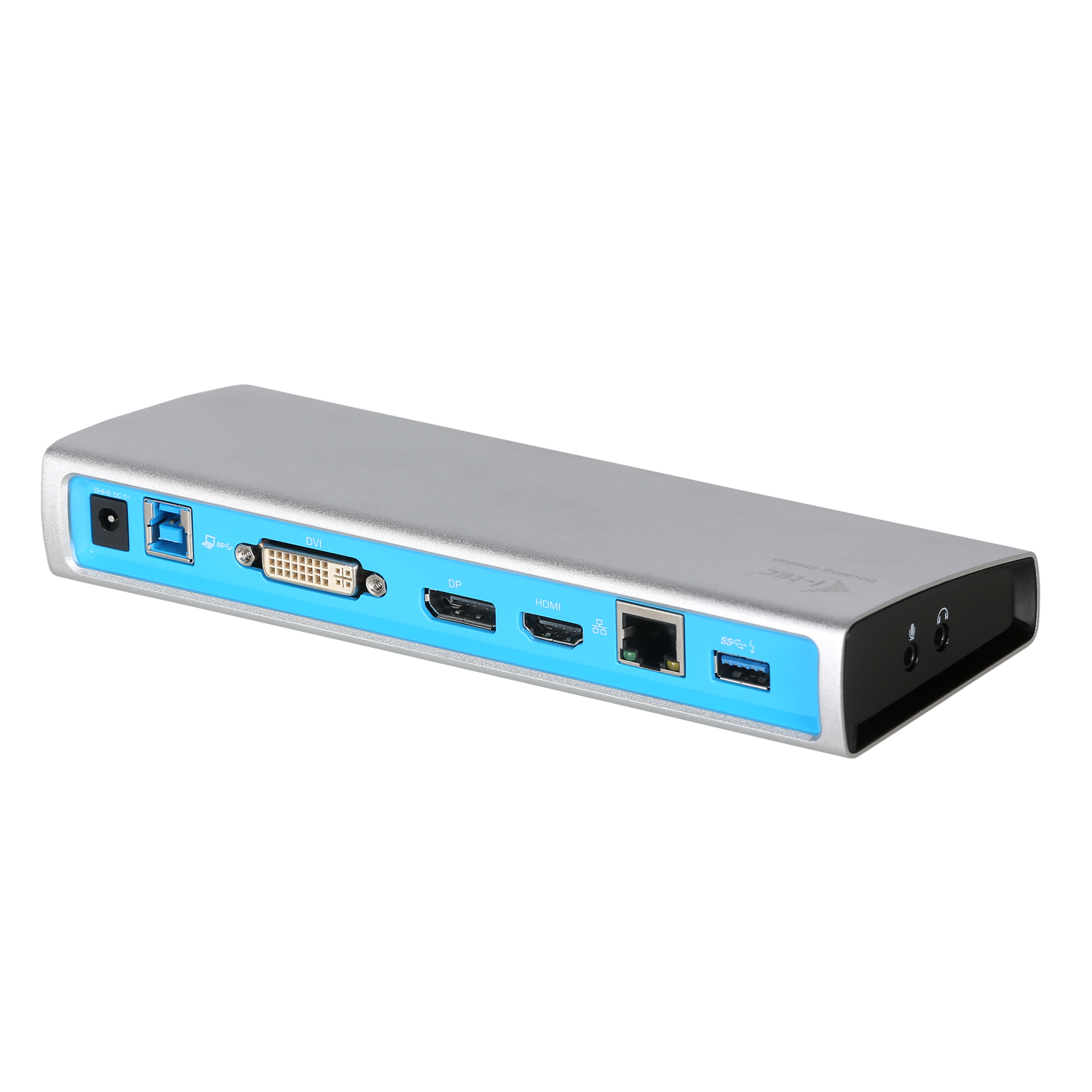 U3METALDOCK i-tec USB 3.0 METAL Docking Station DVI+HDMI/DP