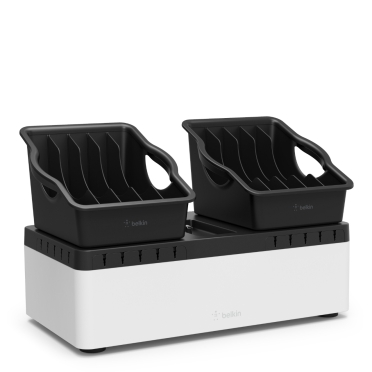 Store and Charge Go with Portable Trays (USB Compatible)