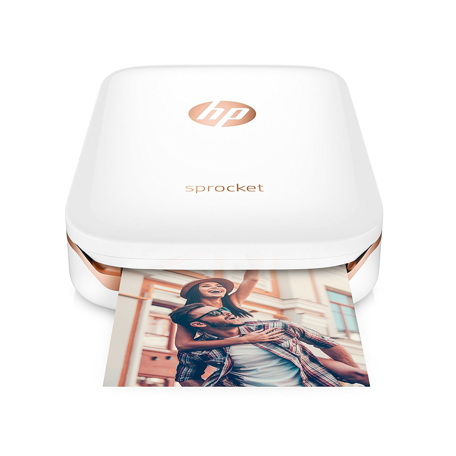 HP Sprocket Photo Printer - white