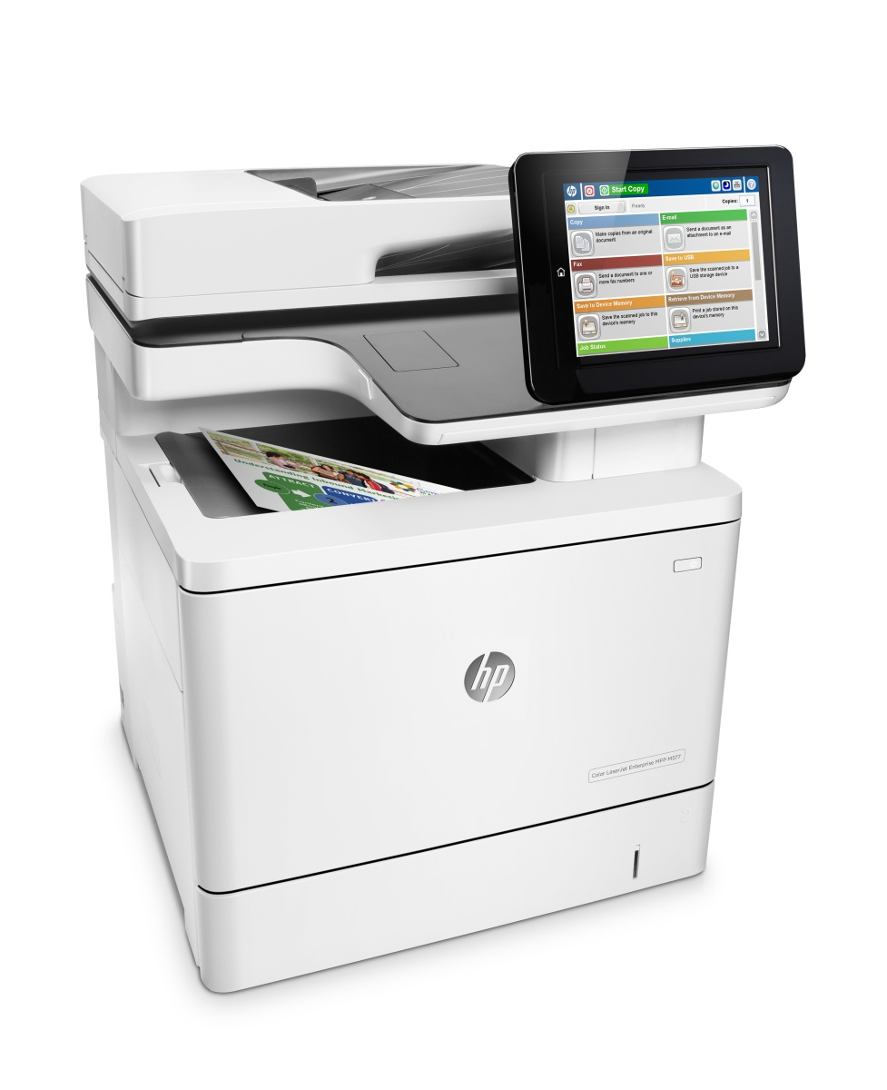 HP Color  LJ Enterprise 500MFP M577dn/A4, LAN