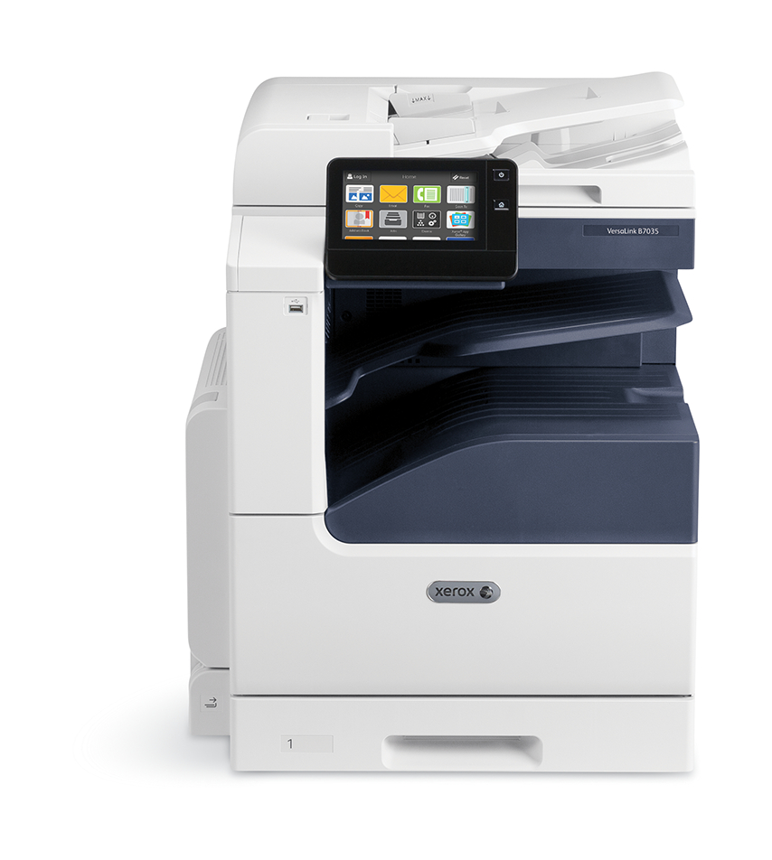 Xerox VersaLink B7000 A3 25/30/35ppm Duplex Copy/print/Scan PCL5c/6 DADF 2 Trays Total 620 Sheets