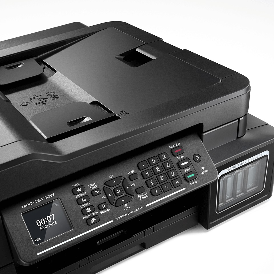 Brother MFC-T910DW + Power banka