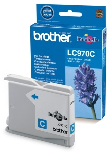Brother LC-970C - inkoust cyan