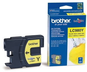 Brother LC-980Y - inkoust yellow