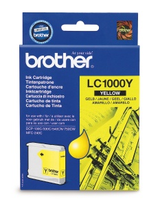 Brother LC-1000Y - inkoust yellow