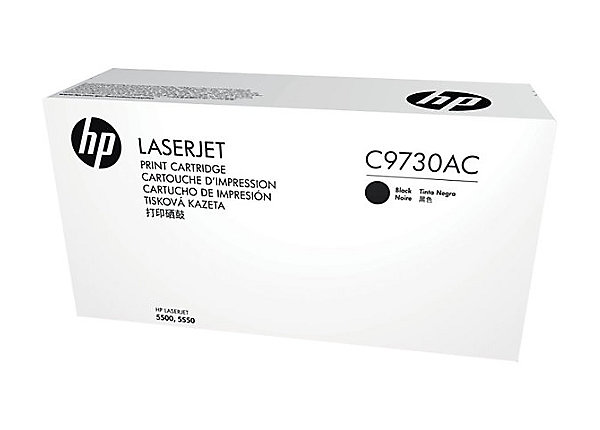 HP 645A - černý Contract Toner, C9730AC