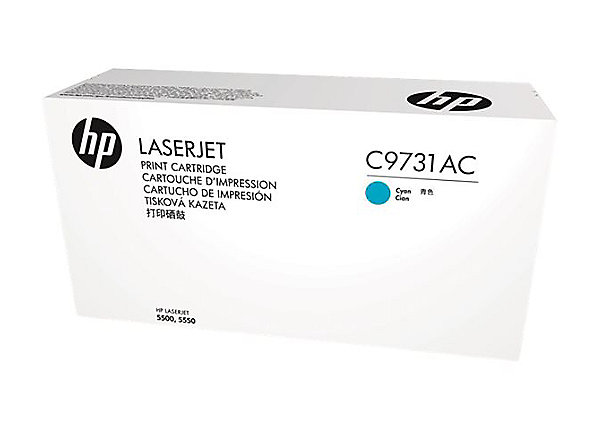 HP 645A - azurový Contract Toner, C9731AC