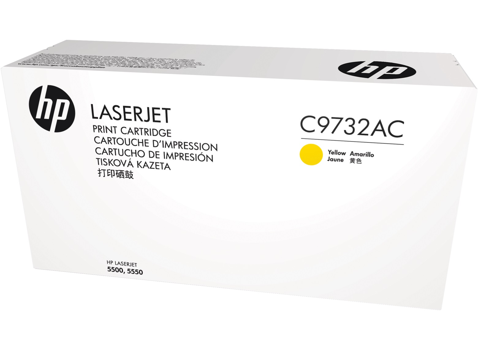 HP 645A - žlutý Contract Toner, C9732AC