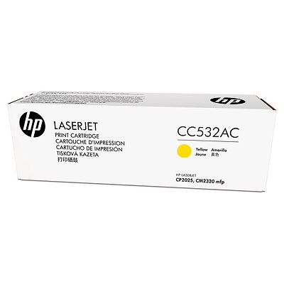 HP 304A - žlutý Contract Toner, CC532AC
