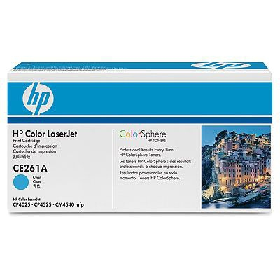 HP azurový Contract Toner, CE261AC