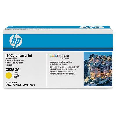 HP žlutý Contract Toner, CE262AC