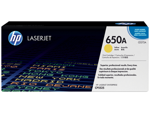 HP 650A - žlutý Contract Toner, CE272AC