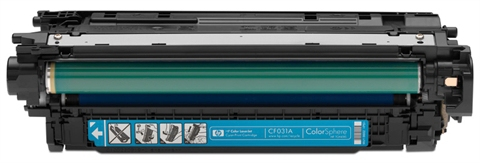 HP azurový Contract Toner, CF031AC