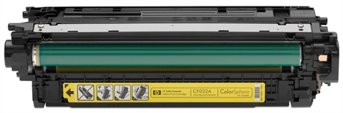 HP žlutý Contract Toner, CF032AC