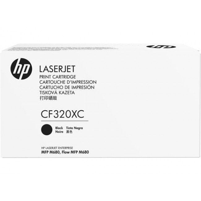 HP 653X - černý Contract Toner, CF320XC