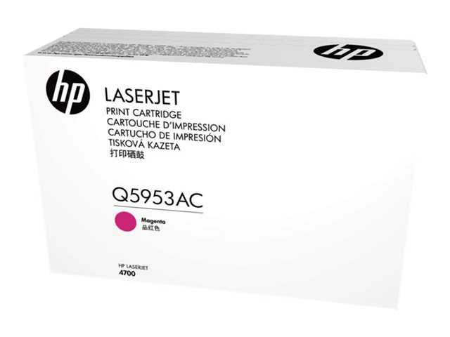 HP purpurový Contract Toner, Q5953AC
