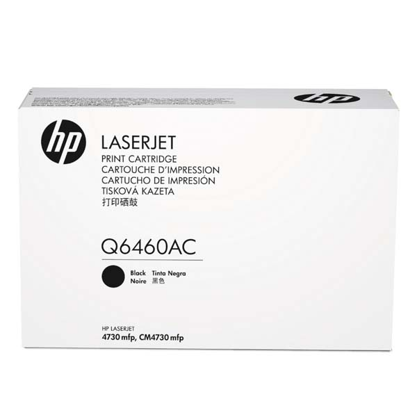 HP černý Contract Toner, Q6460AC