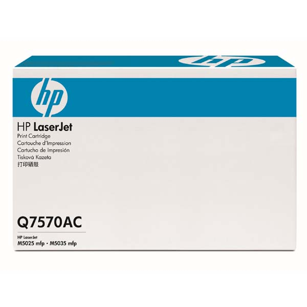 HP černý Contract Toner, Q7570AC