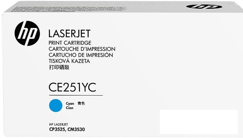 HP 504Y - azurový  Contract Toner, CE251YC