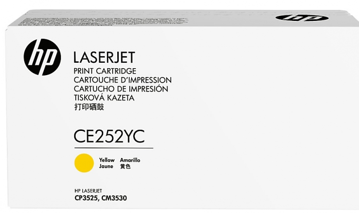 HP 504Y - žlutý  Contract Toner, CE252YC