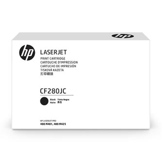 HP 80J Jumbo Black Contract Toner, CF280JC