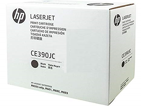 HP 90J Jumbo Black Contract Toner, CE390JC