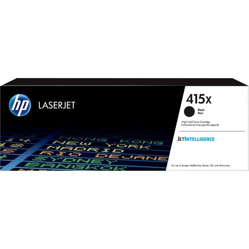 HP 415X Black Contract LaserJet Toner, W2030XC