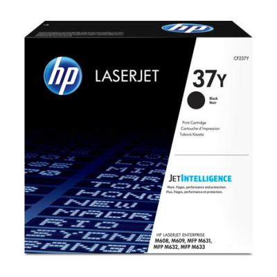 HP 37Y Extra High Yield černá LJ Cartridge, CF237Y