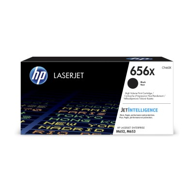 HP 656X High Yield černá LaserJet Cartridge,CF460X
