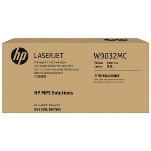 HP Yellow Managed LJ Toner Cartridge, W9032MC