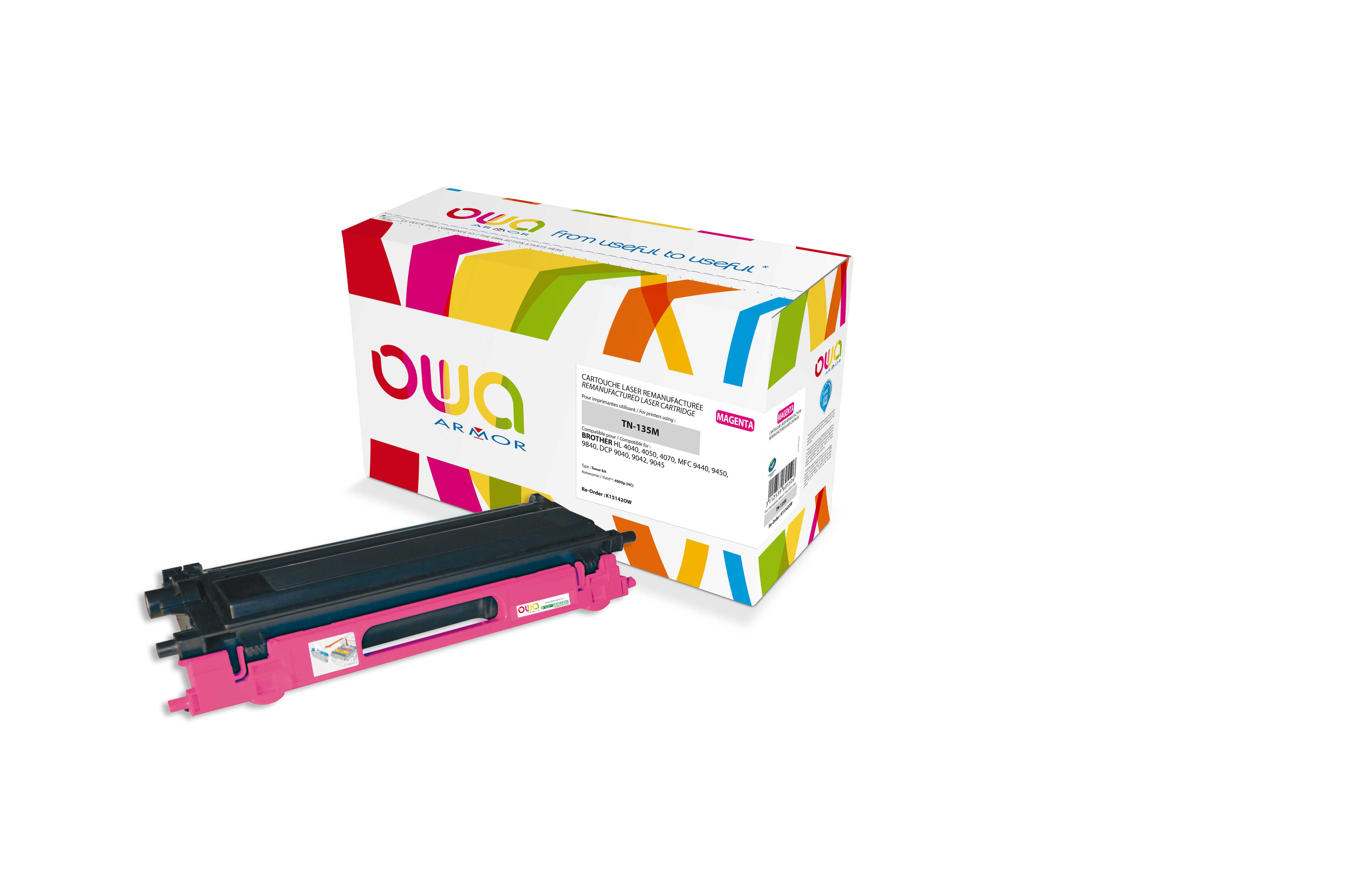 OWA Armor toner pro Brother HL4040, 4.000str (TN135M)