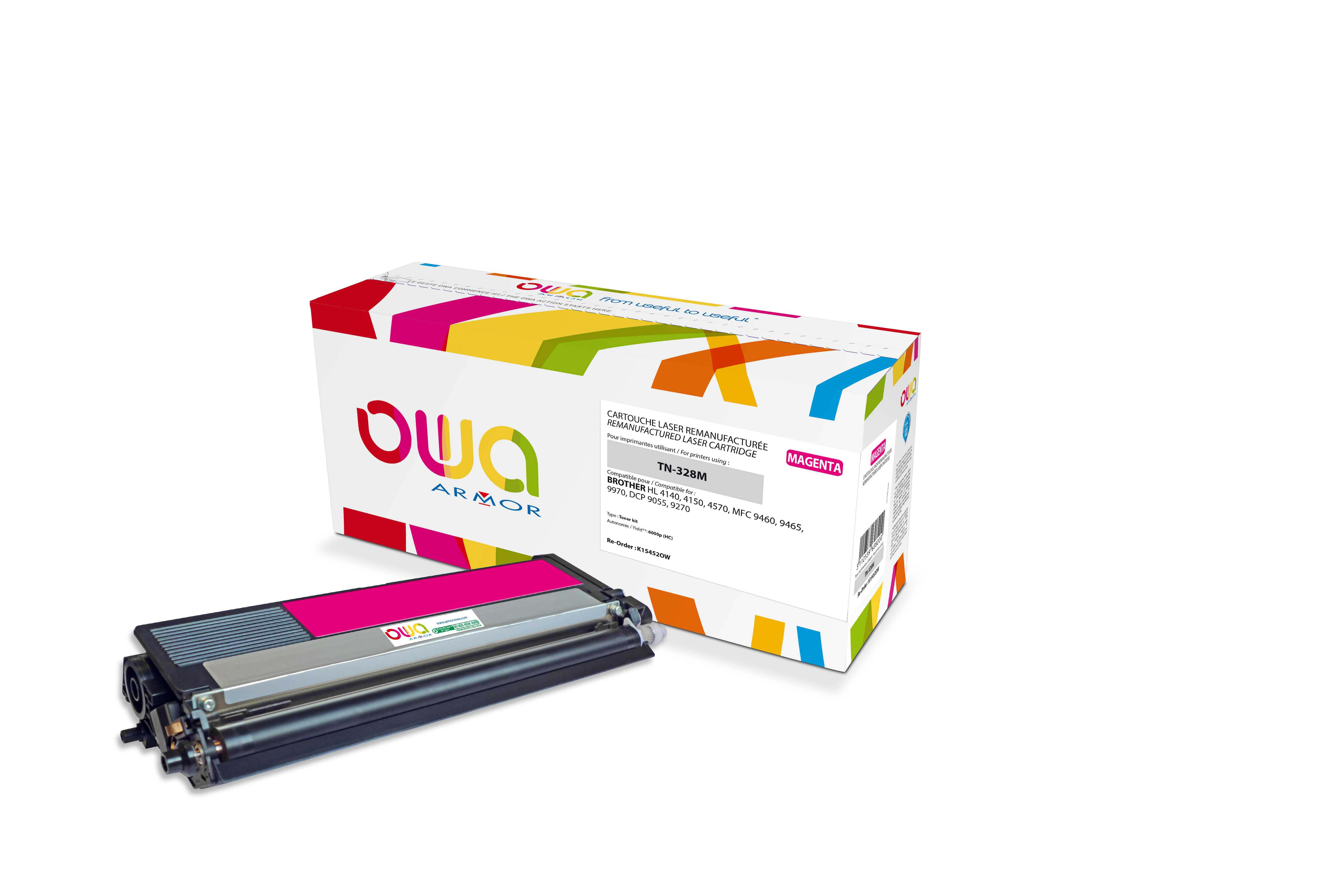 OWA Armor toner pro Brother,6.000str (TN328M) Ma