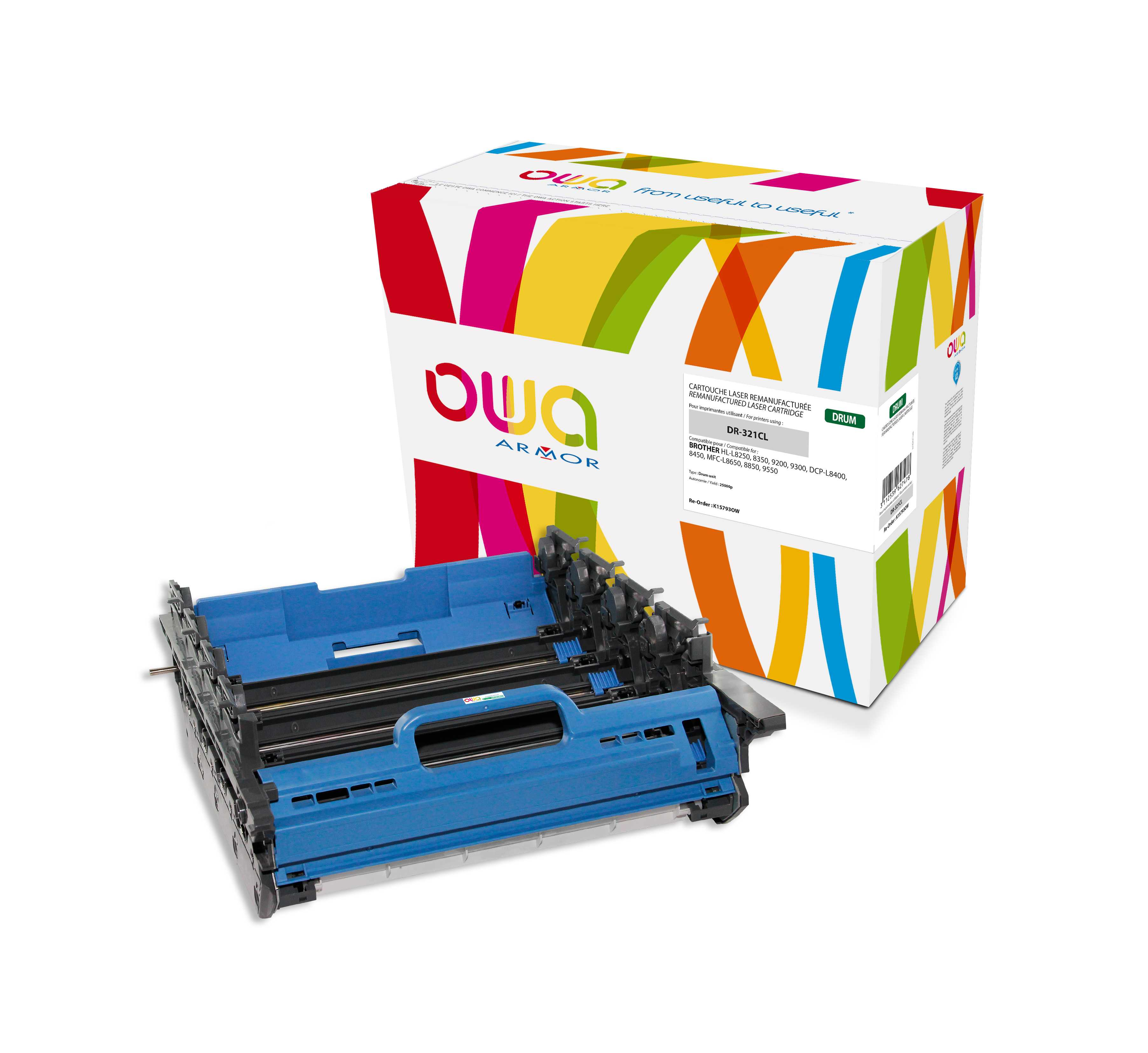 OWA Armor válec pro Brother DR-321CL,25000st.