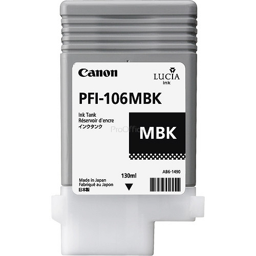 CANON INK PFI-106 MATTE BLACK