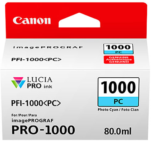Canon PFI-1000 PC, photo azurový
