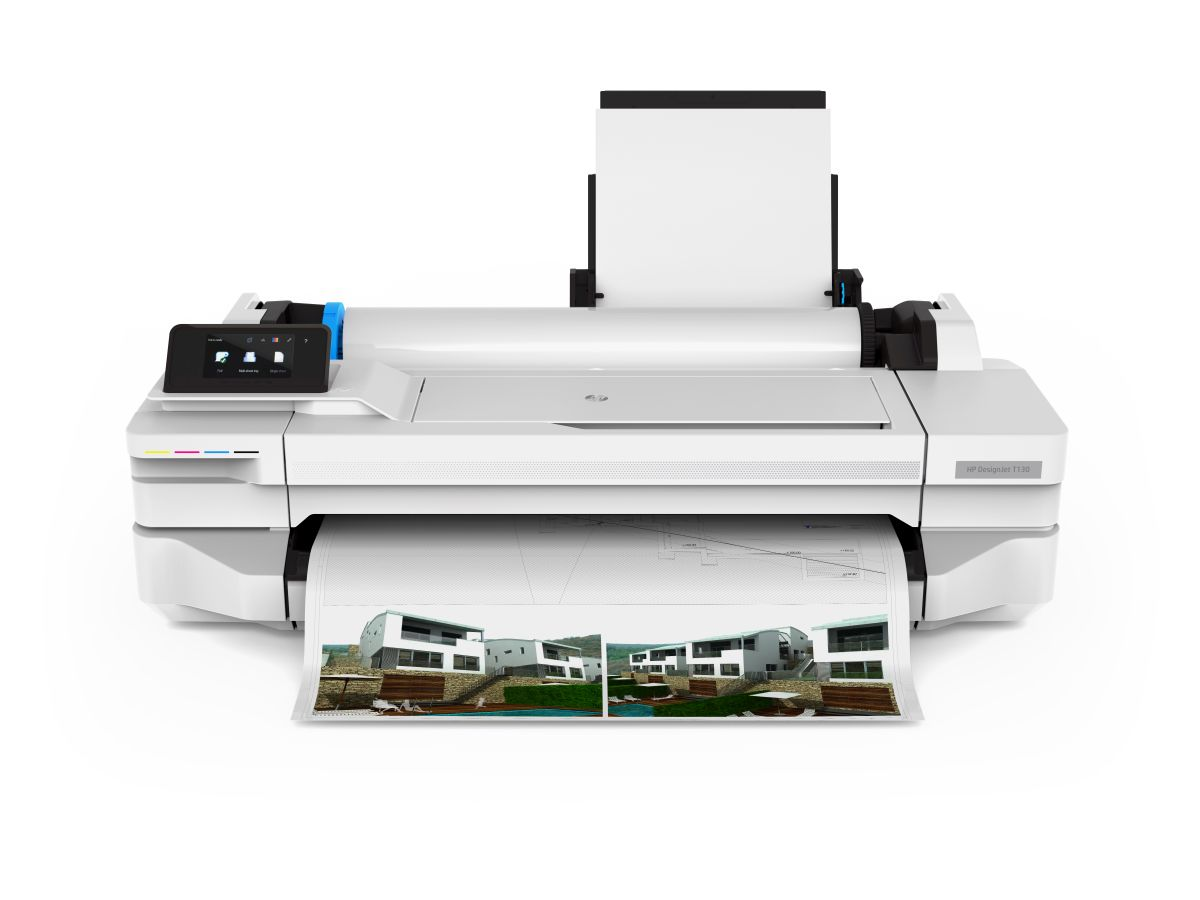 HP DesignJet T130 24-in Printer