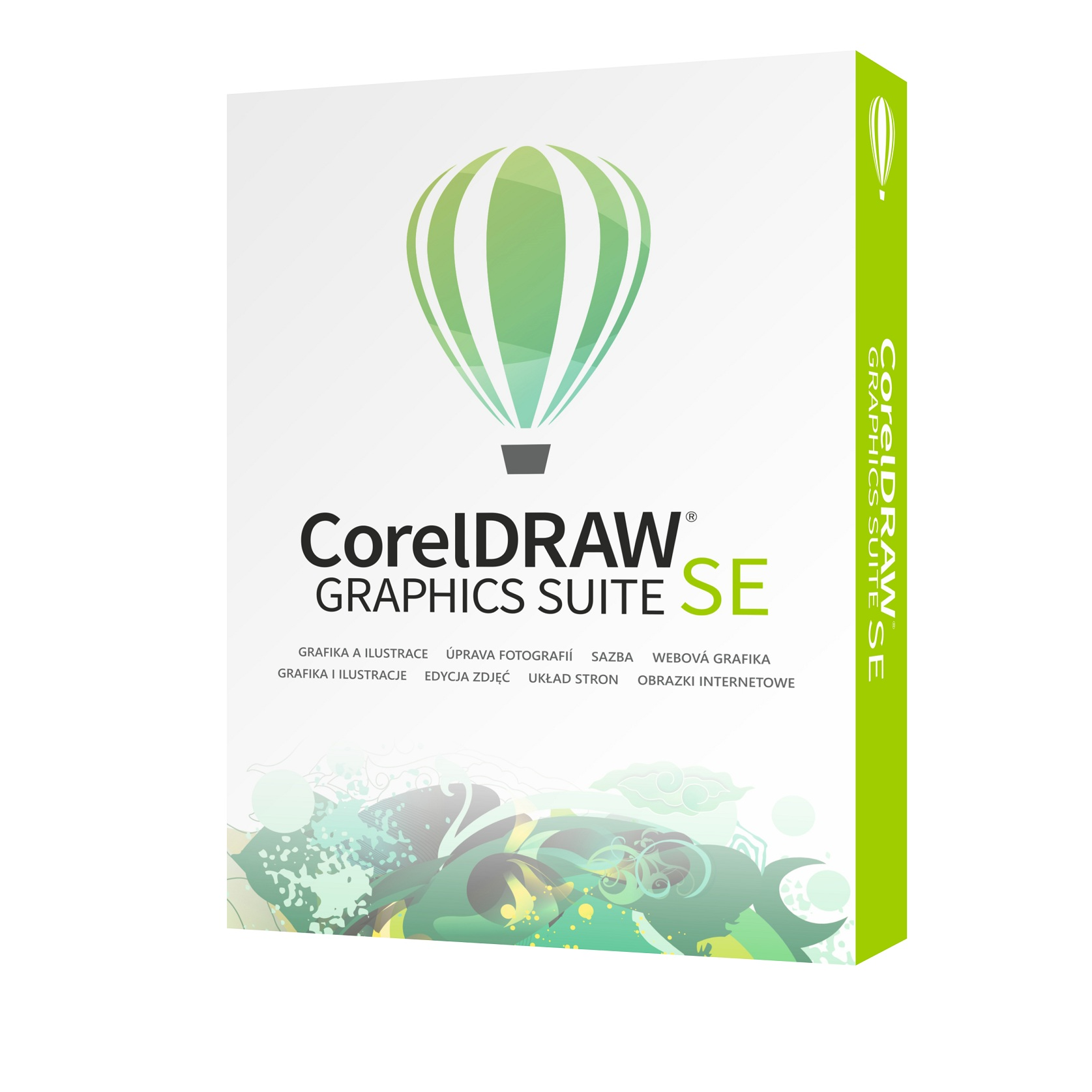 CorelDRAW Graphics Suite SE 2 CZ/PL EU