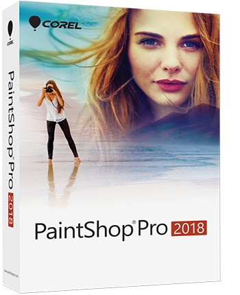 PaintShop Pro 2018 EN Mini-Box