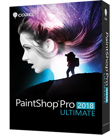 PaintShop Pro 2018 Ultimate EN Mini box