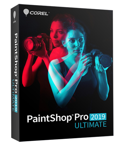PaintShop Pro 2019 Ultimate EN Mini box