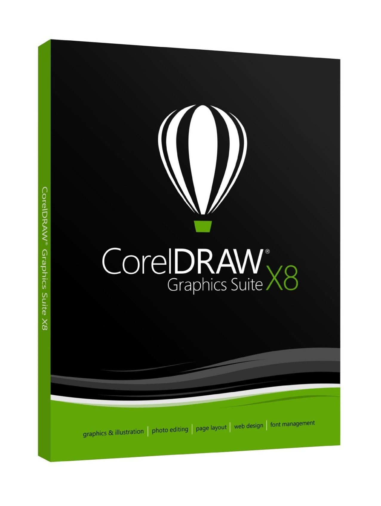 CorelDRAW Graphics Suite X8 License Media Pack